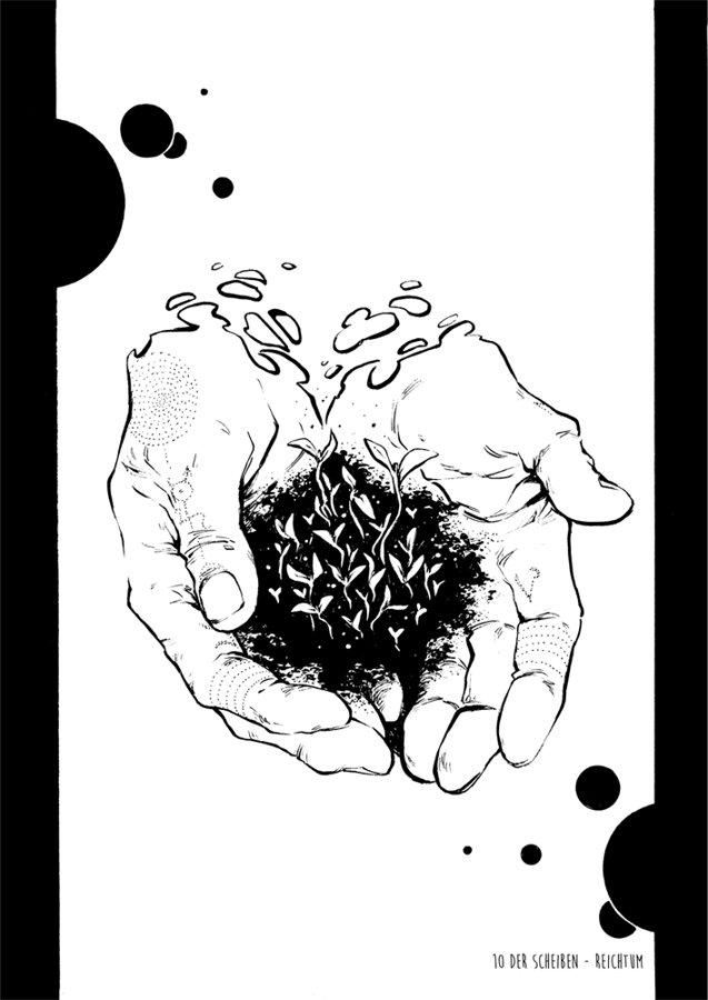Print A5 - Tarot (s/w)